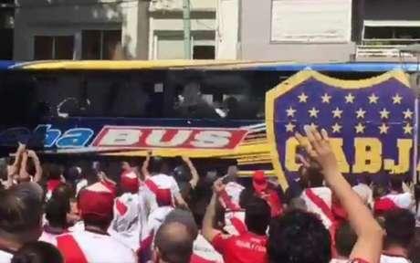 River x Boca - Ônibus
