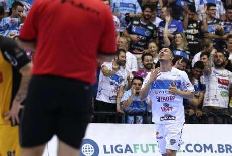 Pato está na final da LNF (Foto: Maurício Moreira/Pato Futsal)