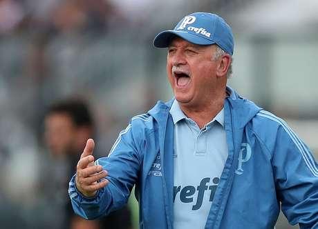 Felipão comemora gol do título do Palmeiras