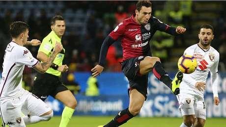 Cagliari e Torino ficaram no empate sem gols