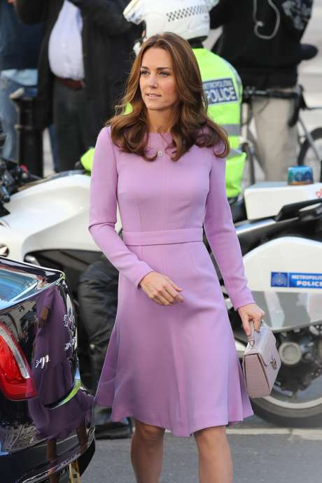 Kate Middleton em Londres, na Inglaterra