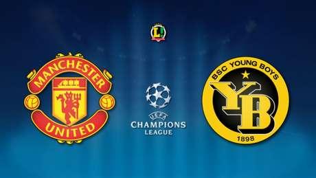 United recebe Young Boys nesta terça (Arte: LANCE!)