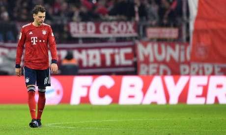 Goretzka lamenta empate diante do Fortuna Dusseldorf (Foto: Christof Stache / AFP)
