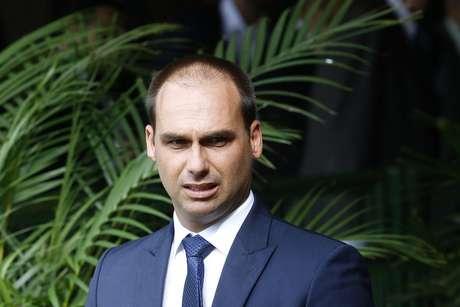 Eduardo Bolsonaro, deputado eleito pelo PSL e filho do presidente eleito