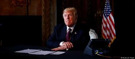 Trump afirmou que leu um pouco do documento