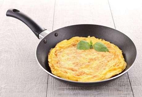 Omelete na frigideira
