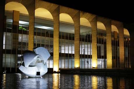 O Palácio do Itamaraty, sede do Ministério das Relações Exteriores