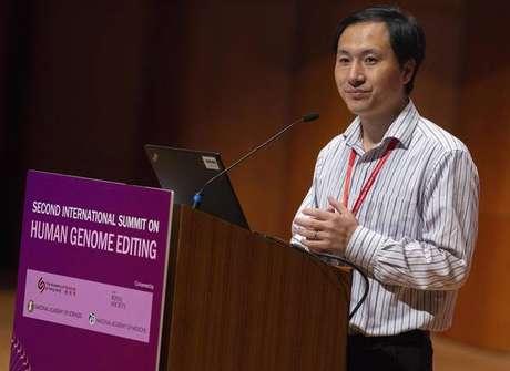 He Jiankui participa de congresso sobre genoma em Hong Kong