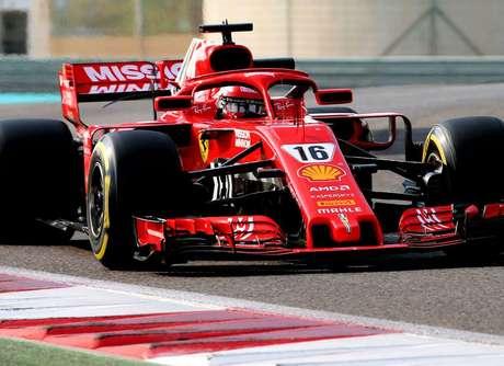 Testes da Pirelli: Leclerc supera o tempo de referência de Vettel em Abu Dhabi