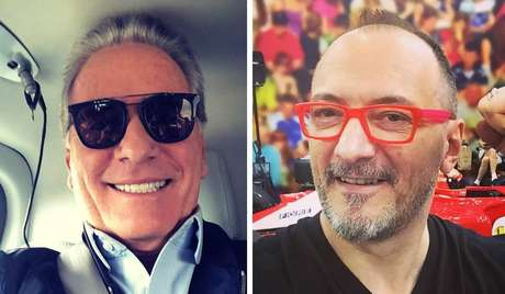 Roberto Justus e Britto Jr.