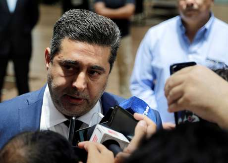Presidente do Boca Juniors, Daniel Angelici