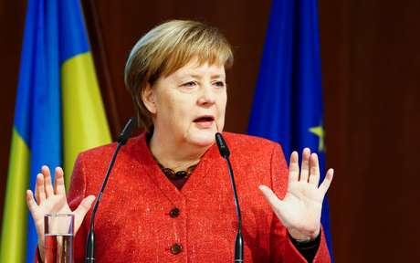 Merkel em Berlim  29/11/2018    REUTERS/Fabrizio Bensch