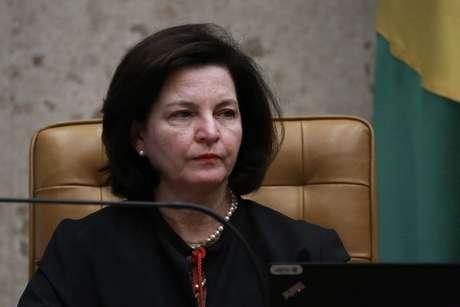A procuradora geral, Raquel Dodge em sessão no plenário do Supremo Tribunal Federal (STF), em Brasília (DF)