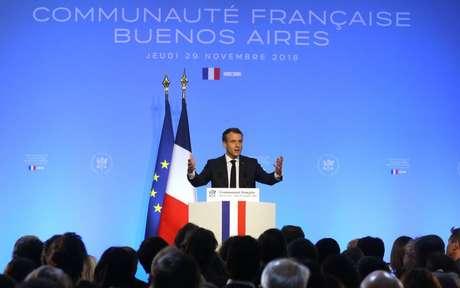 O presidente francês, Emmanuel Macron, disse que não apoiará um acordo entre a União Europeia e o Mercosul se o Brasil deixar o Acordo de Paris.