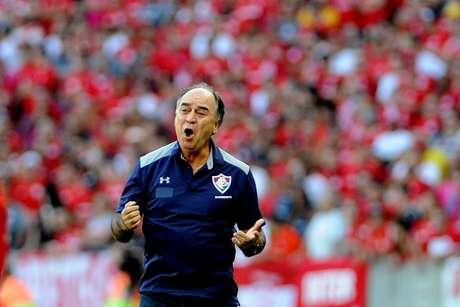 O técnico Marcelo Oliveira, demitido do Fluminense após maus resultados