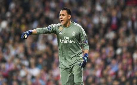 Navas não parece muito satisfeito no Real Madrid (Foto: Christof Stache / AFP)