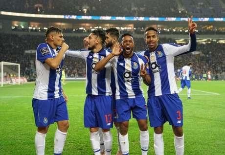 Campeão na última temporada, o Porto é líder do Campeonato Português até aqui (Foto: Reprodução)