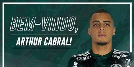 Arthur Cabral é o novo centroavante do Palmeiras a partir de 2019 (Foto: Reprodução)