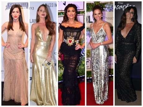 Looks das famosas em 2018 (Fotos: AgNews)