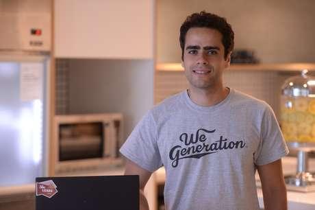 Lucas Mendes, General Manager da WeWork, é o terceiro entrevistado do Terra Inovação