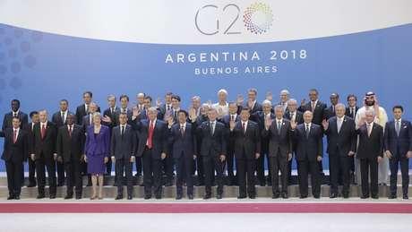 Líderes do G20 se reuniram na Argentina nesse fim de semana