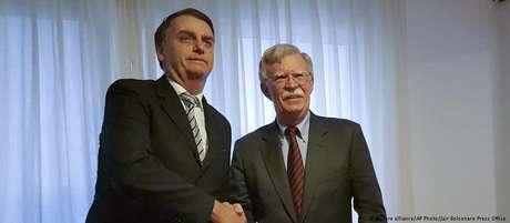 Jair Bolsonaro e John Bolton se encontraram no Rio de Janeiro, na casa do presidente eleito