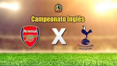 Arsenal recebe o Tottenham e o Everton visita o Liverpol neste domingo (Foto: Reprodução)