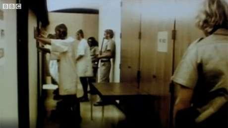 Imagem das gravações do experimento: estudo que deveria se estender por duas semanas durou apenas seis dias