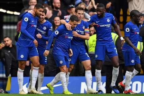 Blues venceram mais uma dentro de casa (Foto: AFP)
