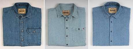Linha das camisas