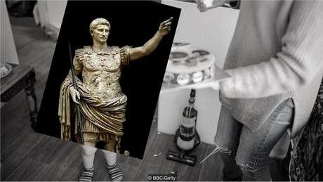 Primeiro imperador romano, Augusto, morreu aos 75 anos