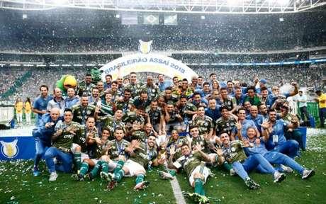 Palmeiras dominou a seleção da Bola de Prata da ESPN (Foto: Luis Moura / WPP)