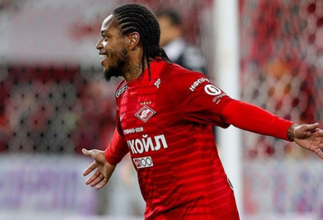 Brasileiro marcou novamente na Rússia (Foto: Reprodução/Spartak)