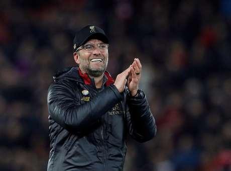 Klopp pode ser punido por comemoração em vitória do Liverpool