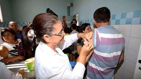 A principal arma contra a febre amarela é a vacina | Foto: Rodrigo Nunes/MS