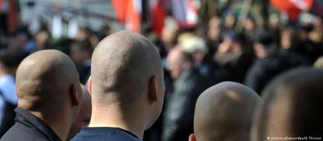 Cena neonazista de Dortmund, no oeste alemão