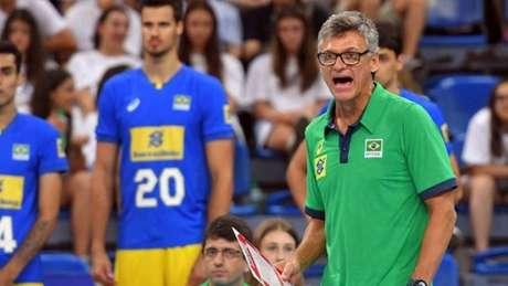 Renan Dal Zotto levou a seleção masculina de vôlei ao vice-campeonato mundial (Foto: Divulgação/CBV)