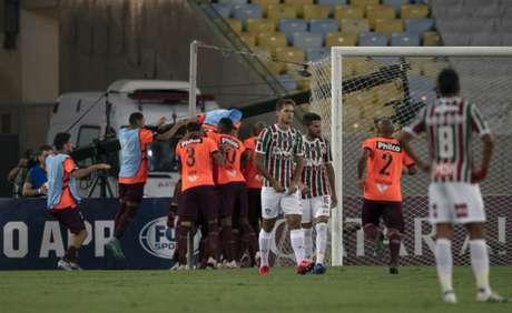 Na semifinal da Sul-Americana, o Atlético-PR venceu o Fluminense (Foto: AFP)