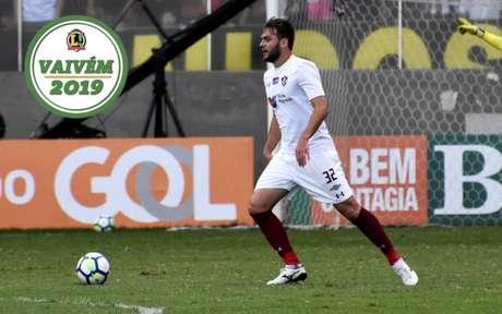 Nathan Ribeiro deixou o Fluminense em junho (Foto: LUCAS MERÇON / FLUMINENSE F.C.)