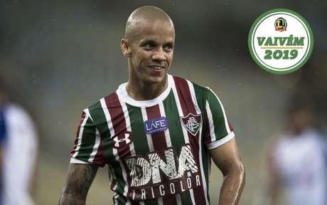 Marcos Júnior deixará o Fluminense em janeiro (Foto: Jorge Rodrigues/Eleven)
