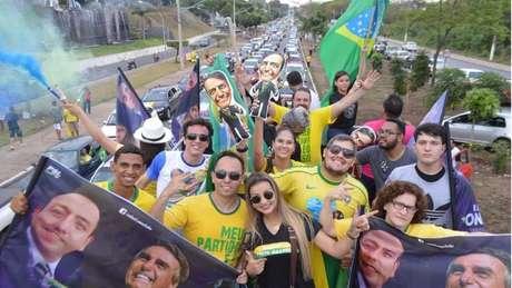 Bolsonaristas compram pacotes para acompanhar a posse do presidente eleito | Divulgação/Direita de Mato Grosso