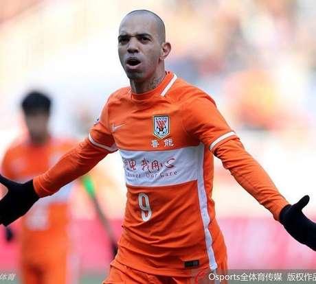 Diego Tardelli deixa o Shandong Luneng e deve voltar ao futebol brasileiro