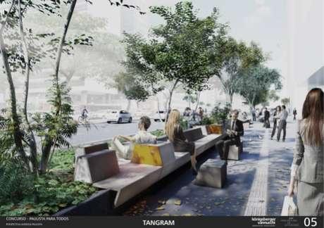 Projeto de novo mobiliário para Avenida Paulista venceu concurso