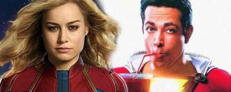 Painel da Marvel contará com a atriz Brie Larson, que interpretará a Capitã Marvel nos cinemas, e o painel da DC terá Zachary Levi, ator que interpretará Shazam! nas telonas