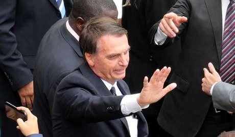 Presidente eleito Jair Bolsonaro 01/12/2018 REUTERS/Paulo Whitaker