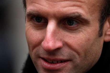 Macron em Paris  26/11/2018   REUTERS/Philippe Wojazer