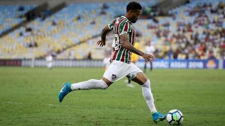 Léo foi emprestado pelo Flamengo ao Fluminense (Foto: LUCAS MERÇON / FLUMINENSE F.C.)
