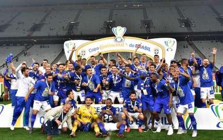 O Cruzeiro , atual bicampeão, vai tentar a sua sétima conquista na competição nacional- EDUARDO CARMIM PHOTO PREMIUM