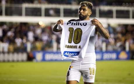 Gabigol foi o artilheiro do Brasileirão 2018 pelo Santos