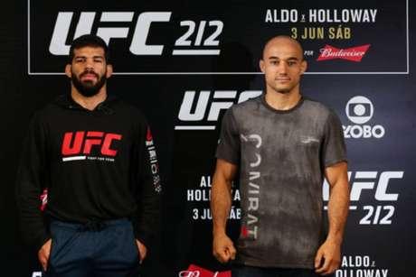 Luta principal do UFC Fortaleza marcará a revanche entre Raphael Assunção e Marlon Moraes (Foto: Getty Images)
